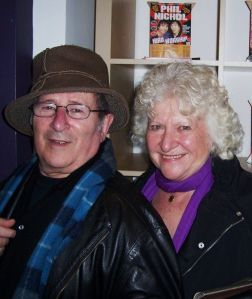Sir Arnold and Lady Dusty Wesker, The Arts Theatre photo - (c) Bo Wilson 2008