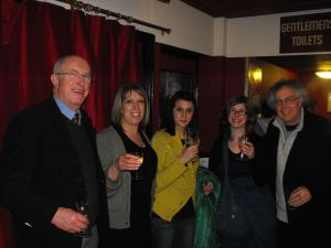 (L to R) Christopher Richardson, Katie Plews, Zena Barrie, Michelle Flower, John Plews photo - (c) Bo Wilson 2009