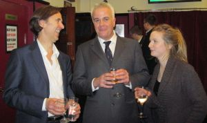 (L to R) Greg Tallent, Martin Witts, Laura Harling photo - (c) 2011